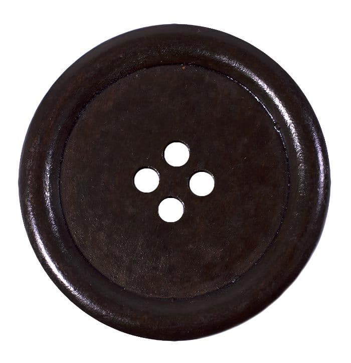 buttons_circle_40mm_4_piercings_dark_brown